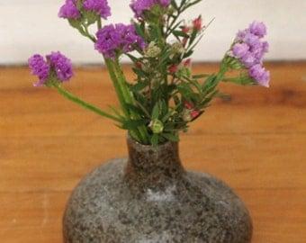 Small earthy ceramic vase (SALE)