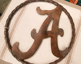 "Bama Metal ""A"" in a Circle"