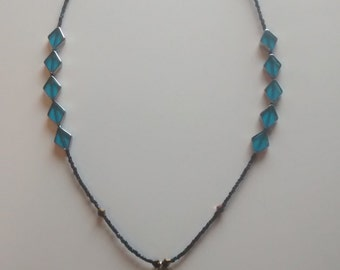 Necklace - Glass with Foot Pendant