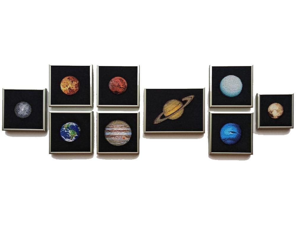 Solar System Bedroom Decor Solar System Etsy