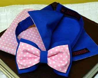 NEW Snazzy set of bow tie and Pocket Square