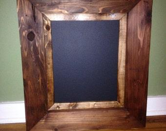 Wood Framed Chalkboard. Rustic Framed Chalkboard. Rustic Chalkboard.