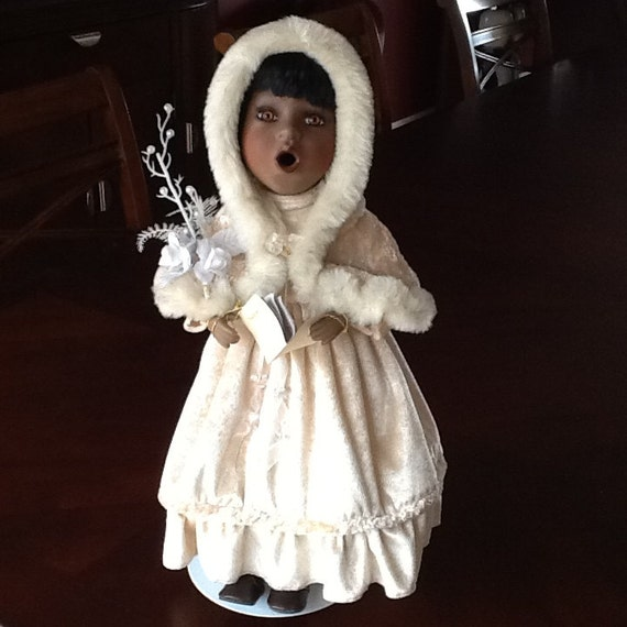 "Gorgeous Black Choir  Doll - 17"" Tall"