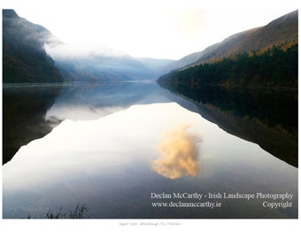 Tranquility at Upper Lake, Glendalough, Co. Wicklow, Ireland Gdaul015