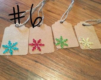 Snow Flake Gift Tags #6