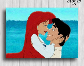 Ariel and eric Etsy