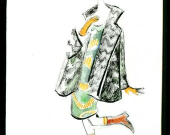 Parisienne 2, original design.