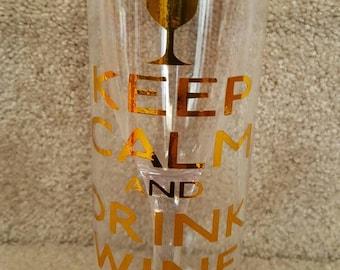 Personalized Acrylic Wine Tumbler
