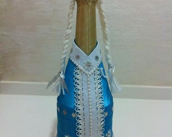 bottle decoration Maiden