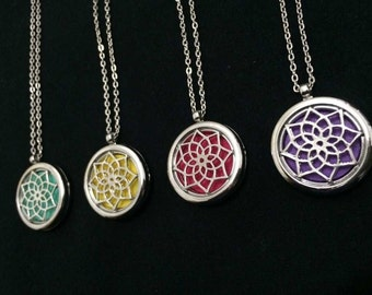 Aromatherapy Necklace Diffuser Pendant