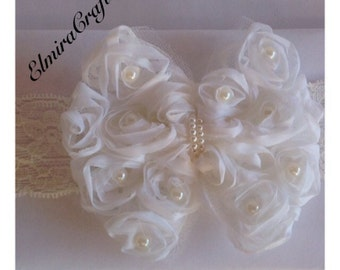 2 for 10.00 Hair Accessories new Lace Flower Newborn Baby Infant Toddler Kid Girl Headband Christening Elastic