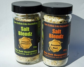 Jalapeno/Habanero Sea Salt 350g