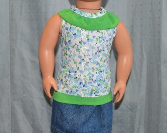 Summer Outfit For 18 inch American Girl Dolls
