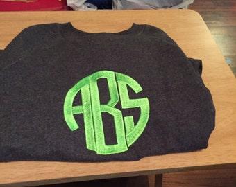 circle style monogram shirt