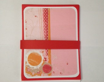 Set of 4 Blank Note Cards with Envelopes