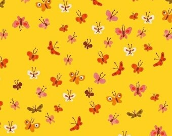 Tiger Lily - Butterflies Yellow