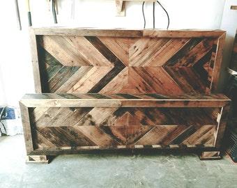 Pallet Wood Bed