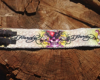 Hand made, one-off guitar strap