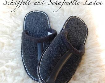 Felt slippers, Filpantoffeln, felt slippers, slippers, FilzsohleGr. 35-47, new