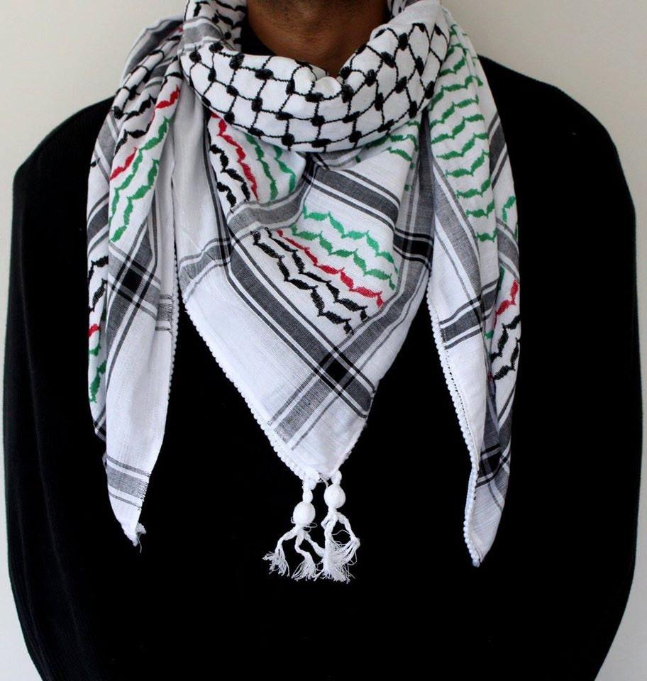 original palestine flag scarf hirbawi palestinian keffiyeh