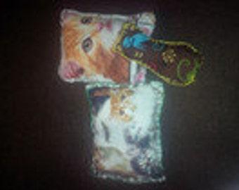 3 Valerian cat Pillow square large/cat toy