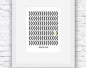 Geometric Art, Black and ...