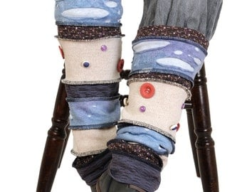 recycling..comfortable and inspiring..leg warmers..