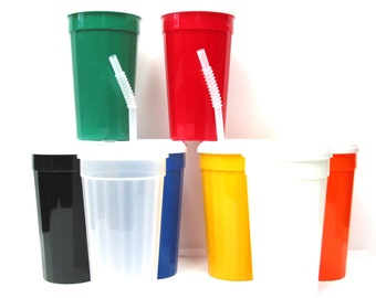9 Variations-Large Tumblers,Lids,Straws, Made in America. Lead Free.  Decorate or Use Without Decorating.