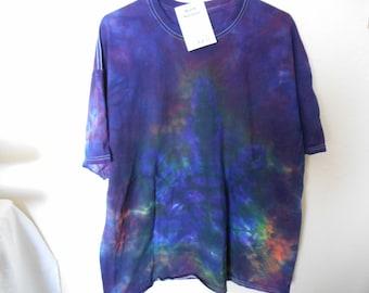 "100% cotton Tie Dye Tshirt ""Midnight Sky"" MM2X11 size 2X"