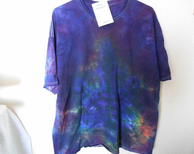 "100% cotton Tie Dye Tshirt ""Midnight Sky"" MM2X11 size 2X"