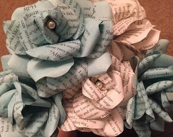 Custom Long Stem Paper Roses
