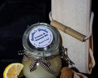 Lemon and Almond Oil Hand Scrub