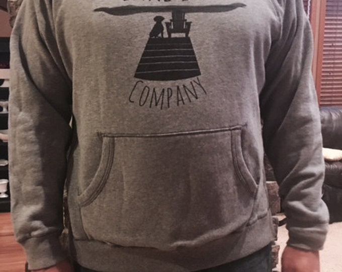Lake Life Hoodie: Lake Life Company Apparel. Made in WI