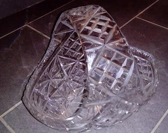 exeptional Crystal D'arques d basket a piece