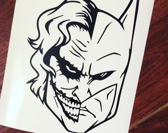 Batman and Joker decal | Batman | Joker