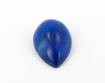 14x9 Pear Shaped Cabochon Loose Lapis Lazuli Gemstone