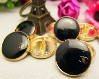 Easy sew Chanel Buttons