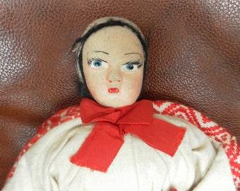 Croatian doll vintage