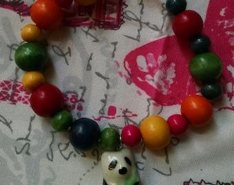 Colorful Panda Bracelet