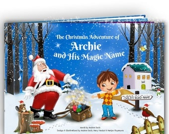Christmas gift for Kids - A Personalized Christmas Story Book - Handmade - A Unique and Magical Story for Every Name