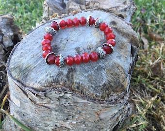 Elegant Rich Red Bracelet