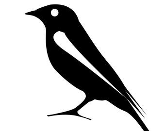 Bird Vinyl Sticker
