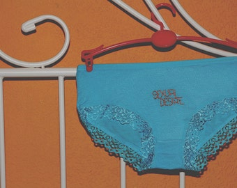 Sexual Desire: Embroidered Panties