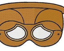 Mask Tiki 05 Embroidery Design Sizes (4*4-100*100)(5*7-130*180) PES,JEF,HUS... etc