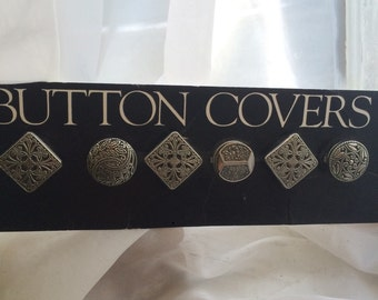 1980's button covers