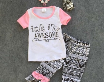 Little miss awesome set