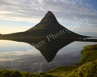 Kirkufell, Iceland Digital Download - Travel Photography - Iceland Photography - Water - Reflection - Wallpaper - Screen Saver