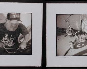 """Diptych """"Nothingman"""", a part of the """"First Memory"""" collection"""