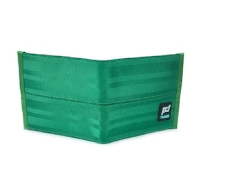FD Takata Green Wallet Custom Stitched Leather Racing Super Cool