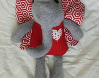 Emma the Elephant Stuffed Animal